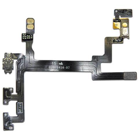 MICROSPAREPARTS MOBILE MOBX-IP5G-INT-81 Volume button flex cable 1pezzo (i) ricambio per cellulare