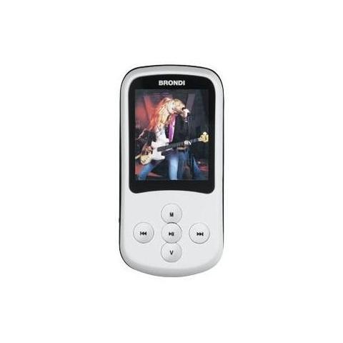 BRONDI Lettore MP4 Display 1.8'' 4GB colore Bianco