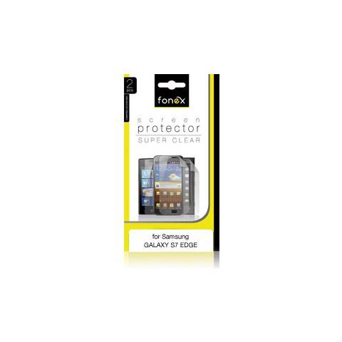 FONEX Pellicola Protettiva Ultra Trasparente per Galaxy S7 Edge (2Pz)