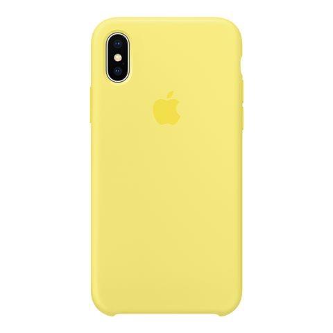 APPLE Cover in Silicone colore Limonata
