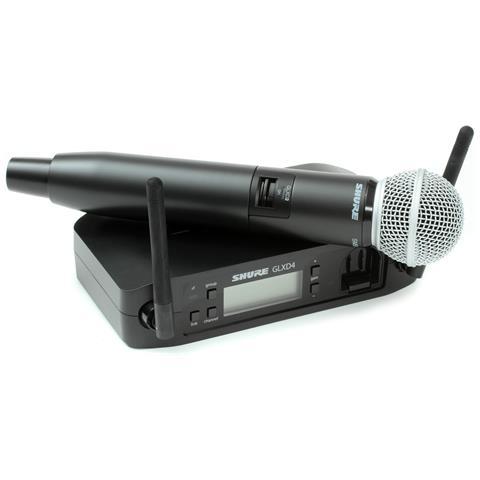Shure Radiomicrofono Glxd24e / Sm58