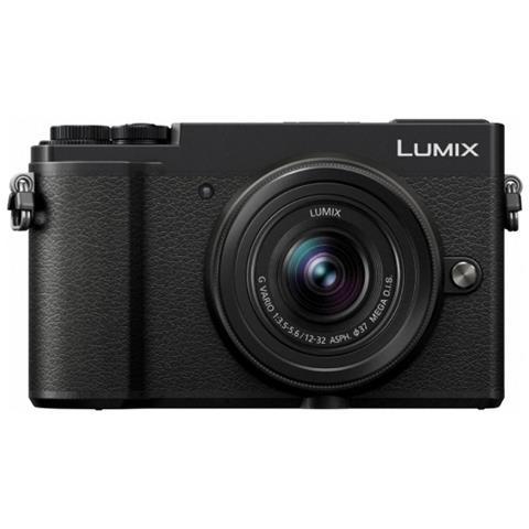 Fotocamera Digitale Mirrorless Lumix GX9 Sensore Live MOS 20 Mpx 4K Ultra HD Obiettivo Lum...