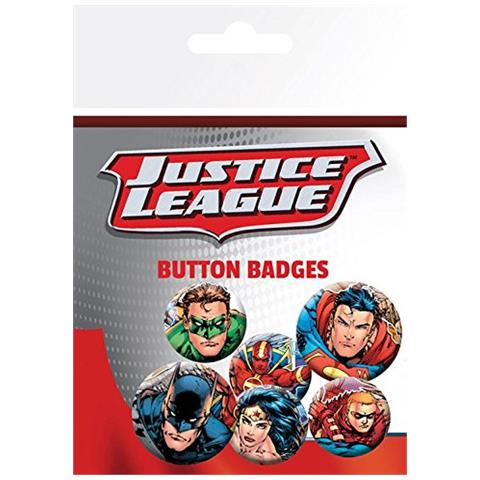 GB EYE Dc Comics: Justice League - Group (badge Pack)