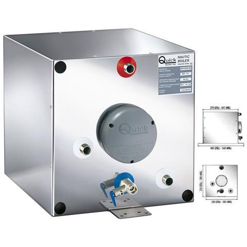Boiler Bxs25 In Acciaio Inox 25lt 1200w Con Scambiatore #qbxs2512s