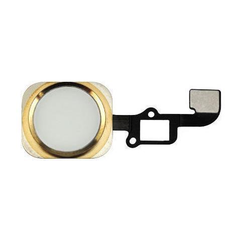 MICROSPAREPARTS MOBILE MOBX-IP6-INT-5G Tasto Home Oro 1pezzo (i) ricambio per cellulare