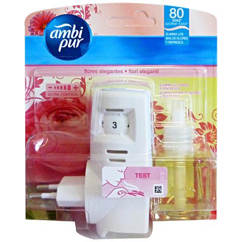 Ambi Pur Casa Base+ricarica Fiori Eleganti Deodorante Candele E Profumatori
