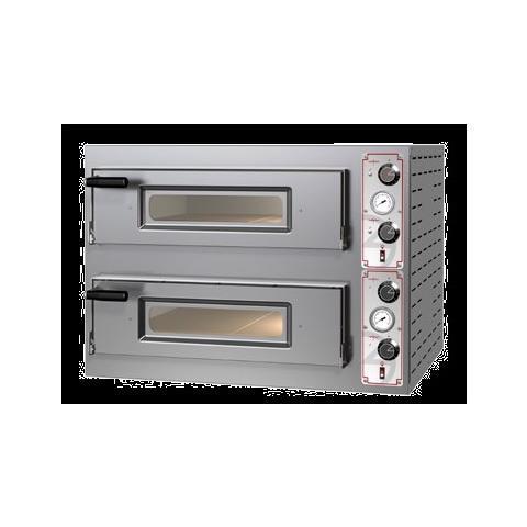 Forno Pizza Pizzeria Elettrico 4+4 Pizze 400 Volt Rs3701