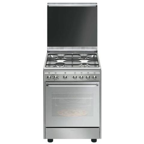 SMEG - Cucina Elettrica CX60SVPZ9 4 Fuochi a Gas Forno Elettrico ...