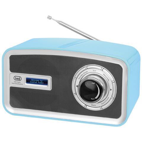 TREVI Radio Dab Portatile Dab 792 R Azzurro