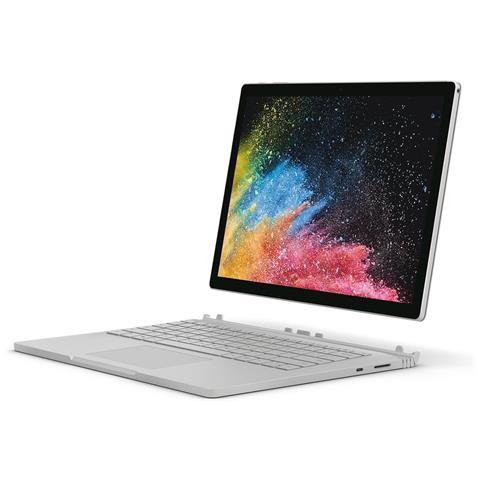 Surface Book 2 Display 15 4K Intel Core i7 Ram 16GB Memoria 512GB Wi-Fi Fotocamera 8Mpx Windows con Tastiera inclusa - Italia
