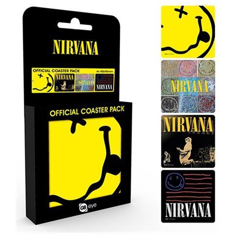Nirvana - Mix (set Sottobicchieri)