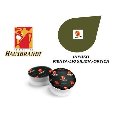 Capsule Hausbrandt Infuso Menta Liquirizia E Ortica Confezione 10pz.