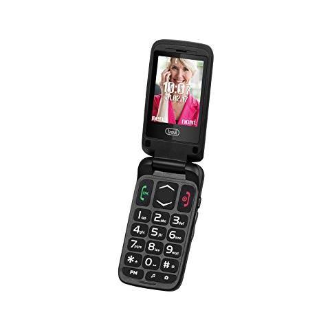 TREVI Telefono Cellulare Per Anziani Trevi Flex 50 Gs Nero