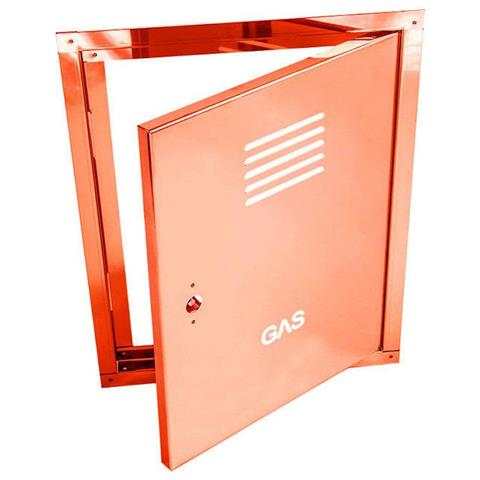 Sportello portello porta rame per contatore gas, misura 35x45cm