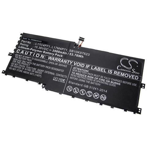 Image of Batteria Compatibile Con Lenovo Thinkpad X1 Yoga 2018 Notebook (3500mah, 15.36v, Li-poly)