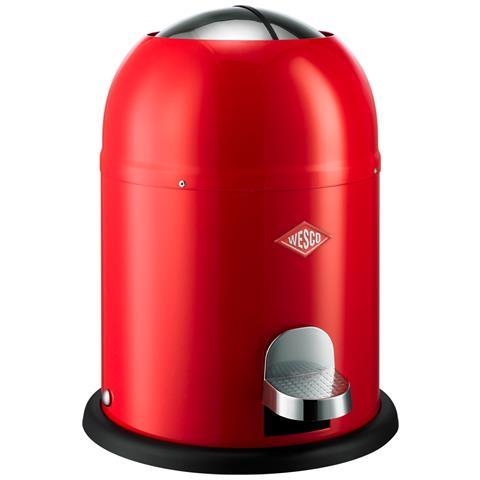 WESCO Pattumiera Pushboy Capacità 22 Litri Rosso