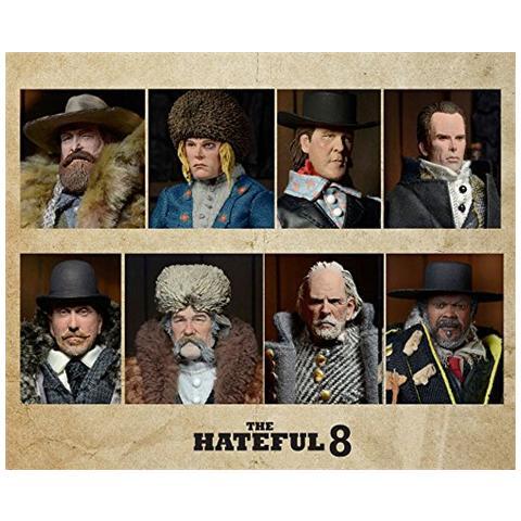 NECA The Hateful Eight Action Figures 20 Cm Assortment (8)
