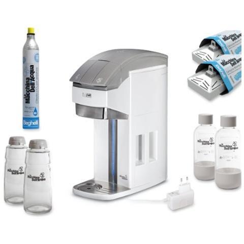 BEGHELLI 3331 La Macchina Dell'Acqua Plus - Distributore di Acqua Filtrata con Gasatore