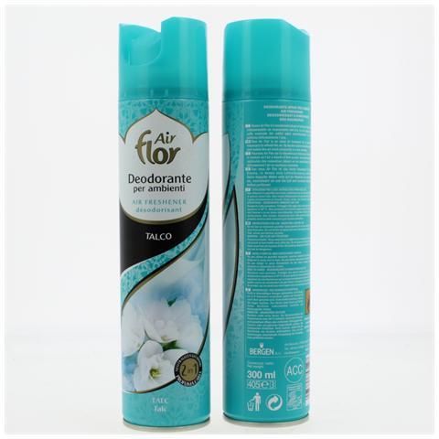 Air Flor 300 Deodorante Spray Talco