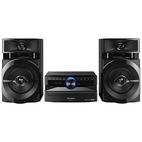 PANASONIC Sistema Mini Hi-Fi SC-UX102 Lettore CD Supporto MP3 Potenza Totale 300W Bluetooth / USB
