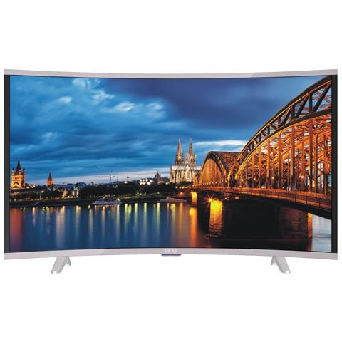 Image of CTV5035 T Smart Curved 49'' Full HD Smart TV Wi-Fi Nero, Bianco LED TV