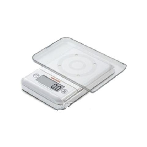 Bilancia Digitale da Cucina Portata 5 Kg Colore Silver