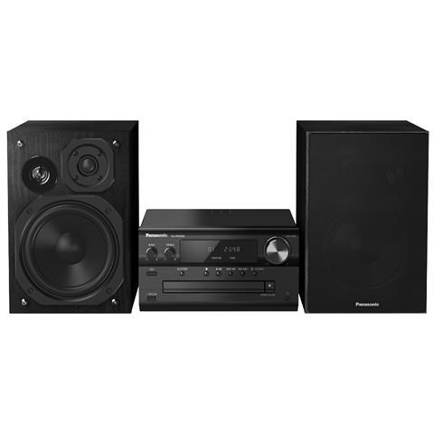 Image of Home Audio Mini System Hi-Fi SC-PMX84EG-K Lettore CD Supporto MP3 Potenza Totale 120 W USB Nero
