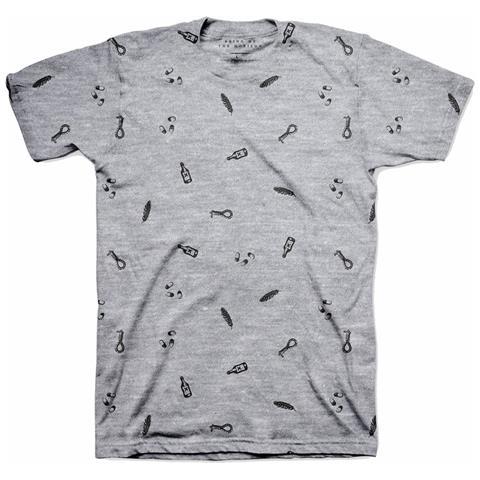 ROCK OFF Bring Me The Horizon - Not So Happy Grey (T-Shirt Unisex Tg. M)