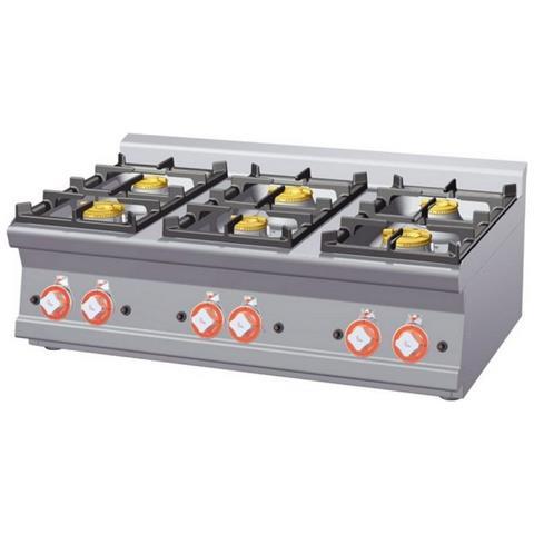 Cucina A Gas Professionale Afp / Pct-610g