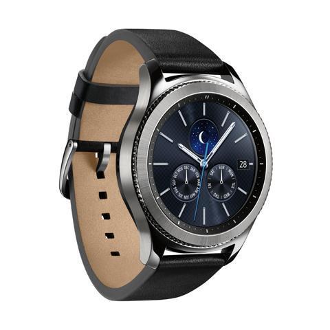 "SAMSUNG Smartwatch Gear S3 Classic Display 1.33"" 4GB Bluetooth Wi-Fi Argento - Italia"