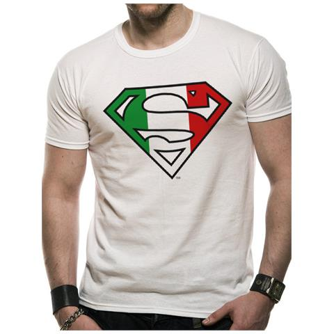 CID Superman - Italian Flag (T-Shirt Unisex Tg. L)