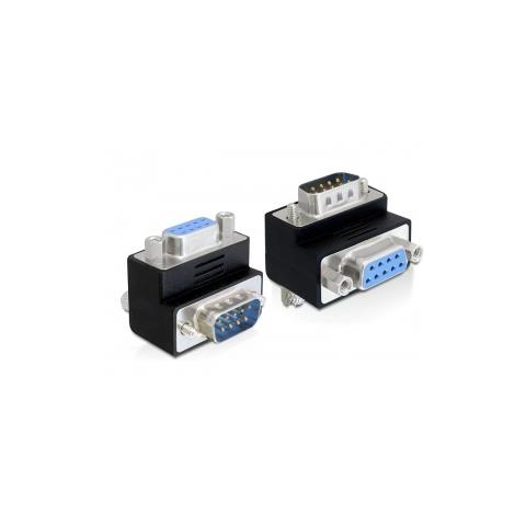 DeLOCK 65264 Sub-D 9 pin Sub-D 9 pin Nero cavo di interfaccia e adattatore
