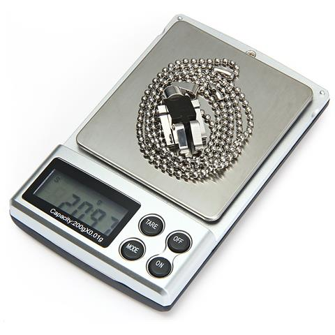 Hostweigh Nsp-06 Bilancia Elettronica 200g Capacità Pocket Digital Diamond Jewelry Dispositivo Di Pesatura Della Medicina