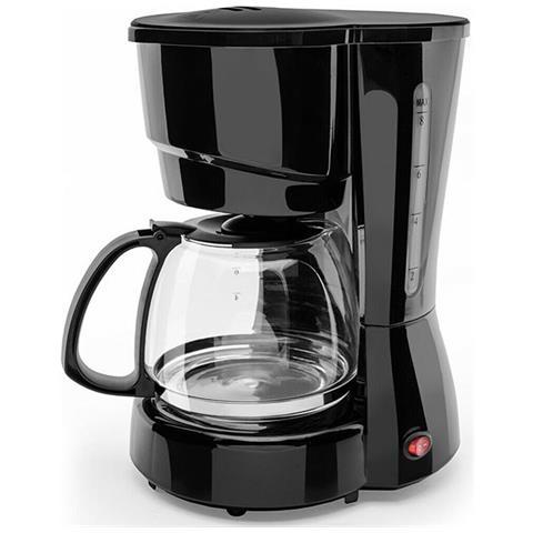 Macchinetta Del Caffe Expressa Black 800w Dicrolux Con Piastra Termica 8 Tazze