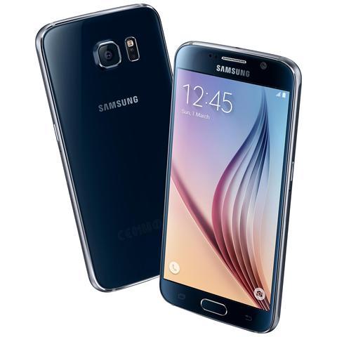 SM-G920F Galaxy S6 Black Display SuperAmoled 5,1 Quad HD Octa Core Ram 3 GB Storage 32 GB Doppia Fotocamera 16 Mpx / 5 Mpx Android 5.0 - Italia