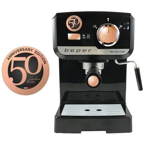 Macchina Caffe Espresso 15bar Con Piano Scaldatazze 1140w Ugello Vapore 1,5lt