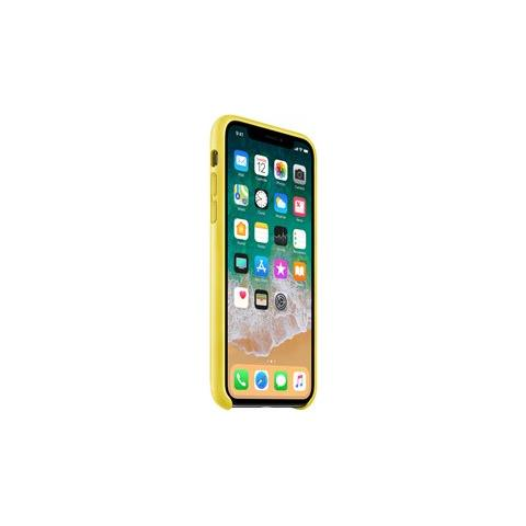 APPLE Cover in Pelle colore Spring Yellow