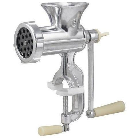 Tritacarne Trita Macina Carne Manuale Alluminio Manovella Macinatura 4,5 Mm