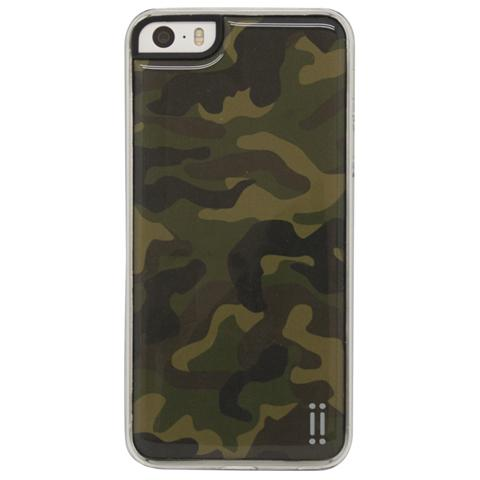 AIINO Gel Sticker Case per iPhone 5/5s e iPhone SE - Camouflage