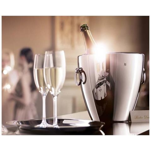 Rinfrescatore per champagne in acciaio inox 18/10 serie Jette