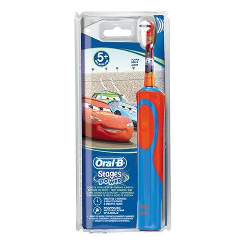 BRAUN Oral-B Spazzolino Elettrico Vitality Stages Power Fantasia Disney Cars