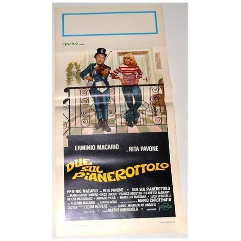 Vendilosubito Locandina Originale Del Film Due Sul Pianerottolo 1976