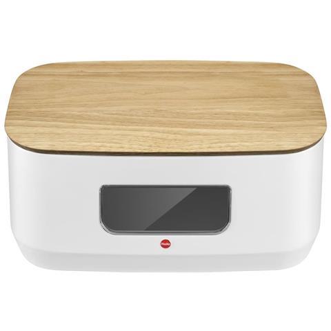 Portapane Kitchenline Design Con Tagliere Bianco Opaco 0833-980