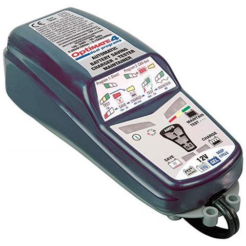 450163 Mantenitore Carica Batterie Optimate 4 Tecmate Tm340 Dual Program 12v 1a