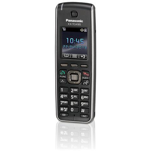 KX-TCA185, Nero, LCD, Nichel-Metallo Idruro (NiMH) , AAA