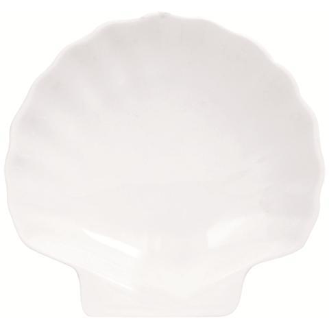 Piatto Conchiglia White Home Bianco 26,0 cm