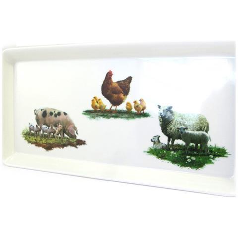 tea cake 'les animaux de la ferme' - [ m3247]