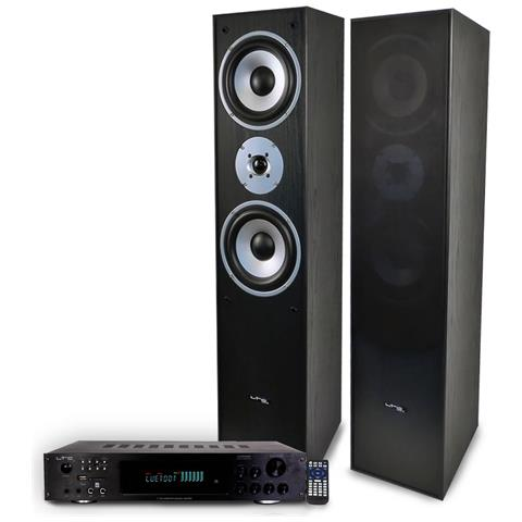 Image of Confezione Hifi / Home Cinema L766-bk + Amplificatore 2 X 50 W Atm6000bt
