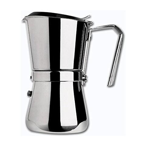 Caffettiera Espresso Modello 102 3/1 Tazza Acciaio Inox 18/10