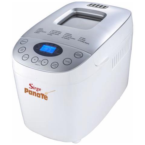 Macchina Per Pane Fresco Fatto In Casa Automatica E Digitale Impasta E Cucina Il Pane Fino A 1600gr 850 Watt Panate